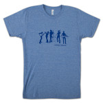 The Stringdusters - Blue Silhouette T-shirt