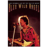 Jimi Hendrix Blue Wild Angel Wall Tapestry