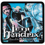 Jimi Hendrix South Saturn Delta Patch