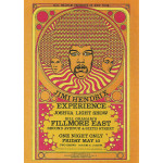 Fillmore East 5/10/1968 (2nd Ed) Postcard