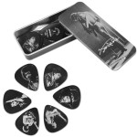 Jimi Hendrix Silver Portrait Series Picks