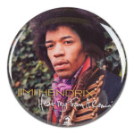 Jimi Hendrix: Hear My Train A Comin Button