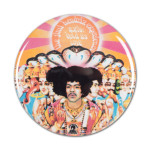 Jimi Hendrix: Axis Bold As Love Button