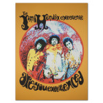 "Jimi Hendrix ""Are You Experienced"" Canvas Print"