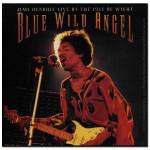 Jimi Hendrix Blue Wild Angel Sticker