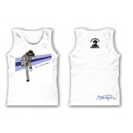 Kiss The Sky Infant White Tank Top