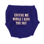 Kiss The Sky Blue Diaper Cover
