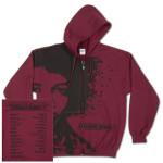 Experience Hendrix 2014 Maroon Hoodie