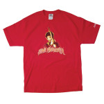 Jimi Hendrix Flame Name T-Shirt