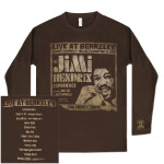 Jimi Hendrix - Live At Berkeley Thermal T-Shirt