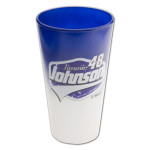 Jimmie Johnson-2014 17 oz Two Tone Color Chrome Mixing Glass
