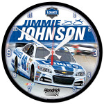 Jimmie Johnson-2014 Clock - round