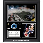 Jimmie Johnson 2014 NASCAR Sprint Cup Series Coca-Cola 600 Race Win Framed 15'' x 17'' Collage With Race-Used Tire