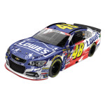 Jimmie Johnson - #48 Lowe's An American Salute 2014 Nascar Sprint Cup Series Diecast 1:24 Scale Color Chrome