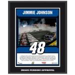 Jimmie Johnson 2014 NASCAR Sprint Cup Series Coca-Cola 600 Race Win Sublimated 10.5'' x 13'' Plaque