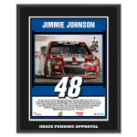 Jimmie Johnson 2014 NASCAR Sprint Cup Series AAA Texas 500 Race Win Sublimated 10.5'' x 13'' Plaque