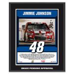 Jimmie Johnson 2014 NASCAR Sprint Cup Series AAA Texas 500 Race Win Sublimated 10.5'' x 13'' Plaque
