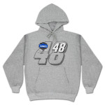 Jimmie Johnson #48 Straight Away Number Hoodie
