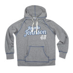 Checkered Flag Sports Jimmie Johnson - Ladies Contrast Fleece Hoodie