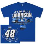 Jimmie Johnson #48 Lowes SideSwipe T-shirt
