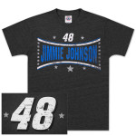 Jimmie Johnson #48 Stars T-shirt