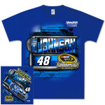 Jimmie Johnson #48 Lowes 2013 Chase for Cup T-shirt