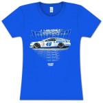 Jimmie Johnson Lowe's Race Day Ladies T-shirt