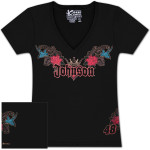 Jimmie Johnson #48 Ladies Speed Diva T-shirt