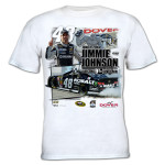 Jimmie Johnson #48 2014 FedEx 400 Spring Race Winner T-shirt