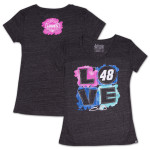 Jimmie Johnson - 2014 Chase Authentics Lowe's Ladies Love Tee