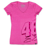 Jimmie Johnson - 2014 Chase Authentics Ladies Metallic Tee