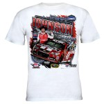 Jimmie Johnson #48 2014 Texas Win Lowe's Red Vest T-shirt
