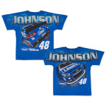 Jimmie Johnson - 2015 Chase Authentics Adult Total Print Tee