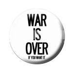 War Is Over Button