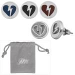 John Mayer Heartbreak Logo Earrings