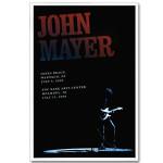 John Mayer - NY/NJ 2008 Tour Poster