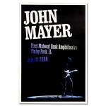 John Mayer - Chicago 2008 Tour Poster