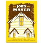 John Mayer 2/19/10 Uncasville Battle Studies Tour Poster
