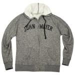 John Mayer Heather Black Hoodie