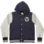 John Mayer Reigning Champ Varsity Fleece Jacket with Hood