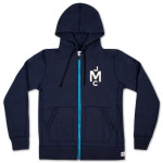 John Mayer Reigning Champ Herringbone Fleece Zip Hoodie
