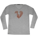 John Mayer Girls Longsleeve Silk Heartbreak T-Shirt