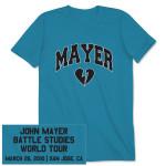 John Mayer Unisex San Jose, CA Event T-shirt