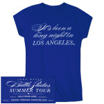 """It's Been A Long Night In Los Angeles"" Womens Tour Tee"