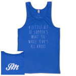 "Unisex ""Summer"" Cotton Tank"