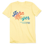 John Mayer Made In America Tour Unisex T-shirt