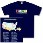 John Mayer Sprinter 2004 Tour T-Shirt