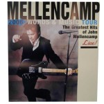 John Mellencamp Words and Music Poster