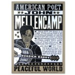 John Mellencamp American Poet Poster