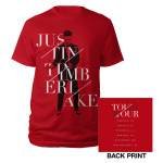 Summer 2013 Red Tour Tee